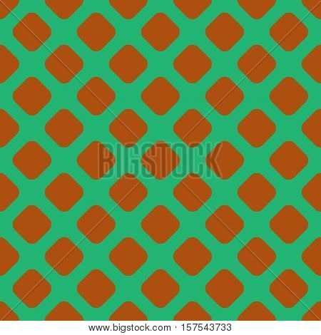 Rhombus geometric seamless pattern. Fashion graphic background design. Modern stylish abstract color texture. Template for prints textiles wrapping wallpaper website. Stock VECTOR illustration
