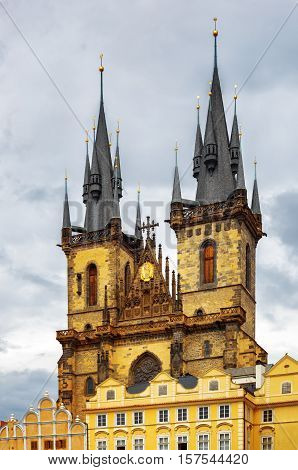 The Church Of The Mother Of God In Front Of Tyn In Prague, Czech Republic