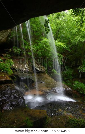 Wasserfall im nördlichen Alabama