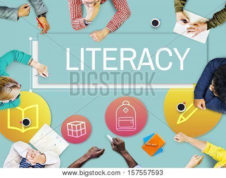 Study School Academic Icon Graphic Concept