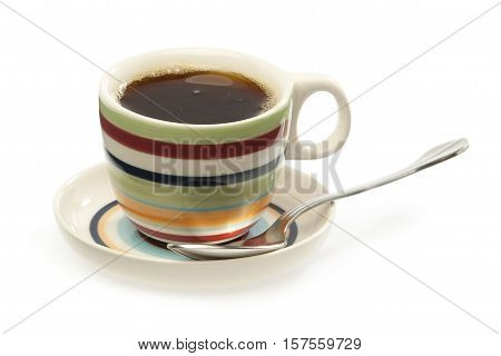 Cup , Coffee And Spoon