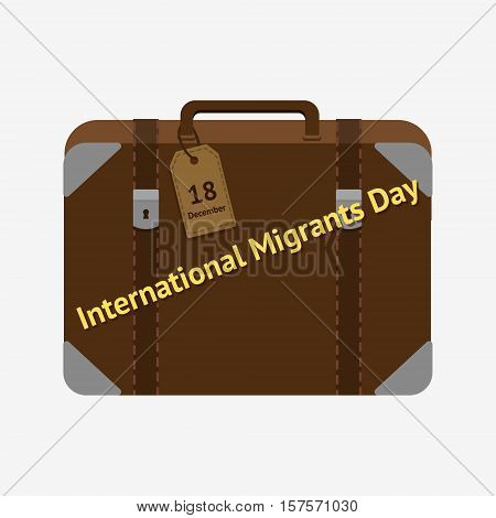 International Migrants Day.