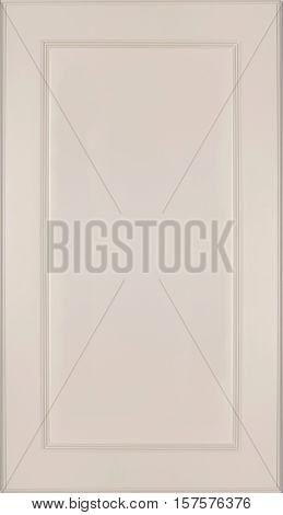 Kitchen cabinet door design panel, Kitchen cabinet door. White with red part