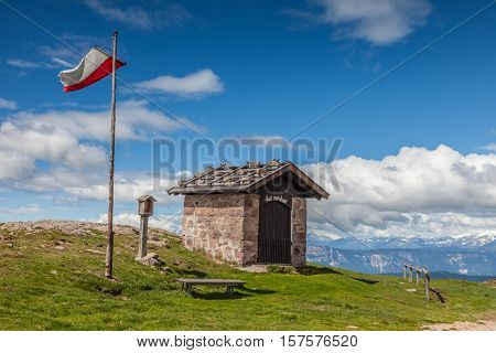 Small Chapel On The Rittnerhorn