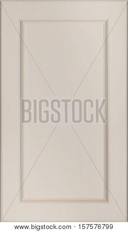 light brown door texture background, Kitchen cabinet door.