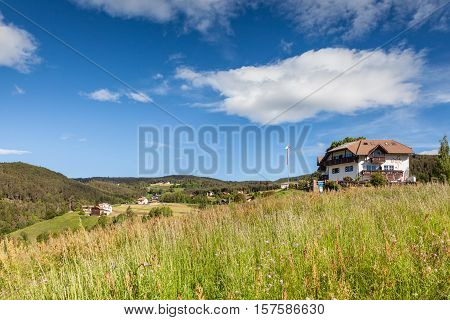 Mountain Farms In South Tyrol