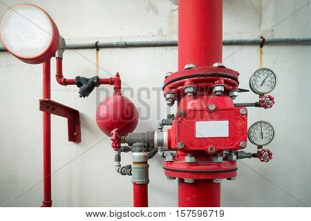 Industrial fire protection system, Industrial equipment fire protection.