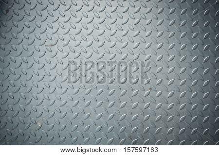Texture of checker plate flooring Floor metalic texture.