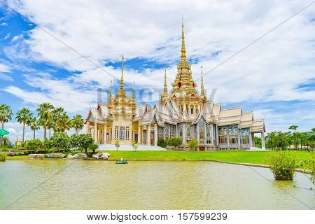 Wat Luang Pho Toh temple or Wat Non Kum temple in Nakhon Ratchasima province Thailand (The public anyone access)