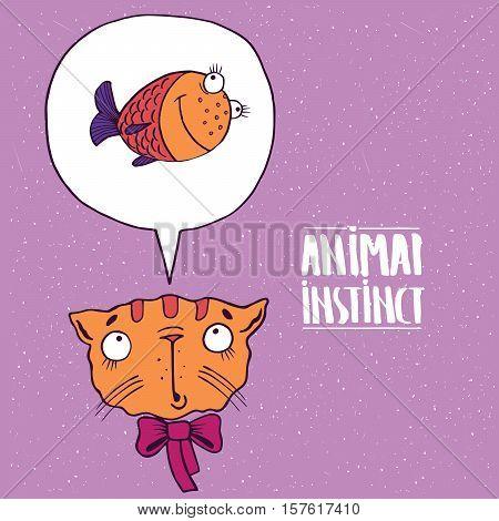 Animal Instinct From Cat To Fish