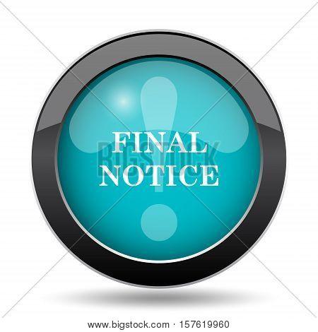 Final Notice Icon