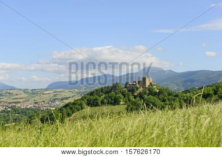 Typical Castle In Marche