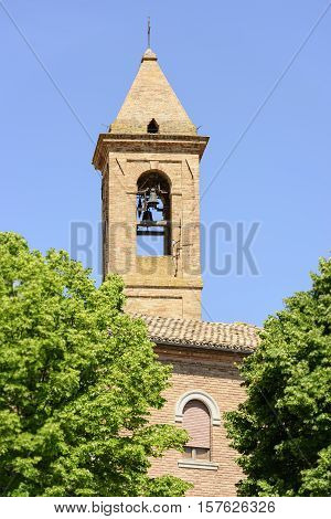 Churchtower Urbisaglia