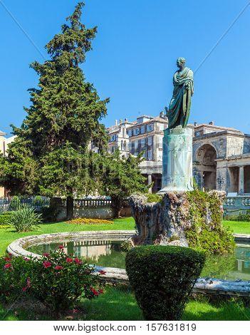 Frederick Adam Statue, Corfu