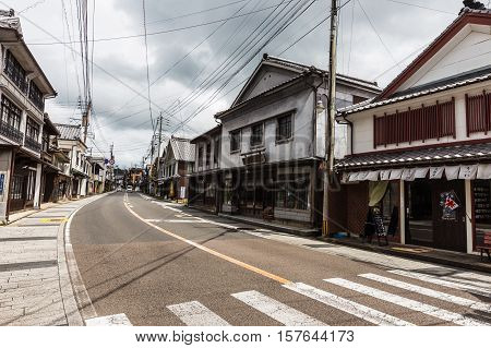 ARITA JAPAN - AUGUST 21: T Arita a small town in Saga prefecture is famous for on August 21 2015.