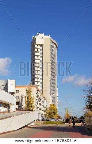 Multi-storey Modern Building