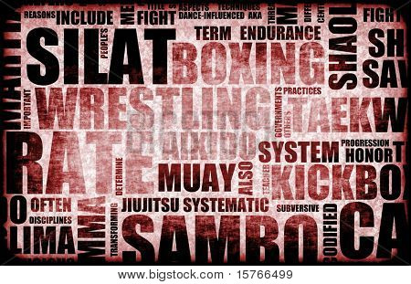 Silat Martial Arts as a Fighting Style poster