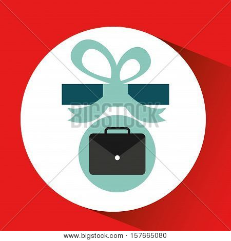 gift father day with portfolio vector illustration esp 10
