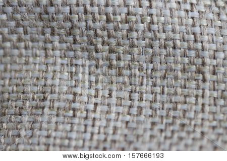 Sackcloth woven texture pattern background light cream yellow beige earth color tone