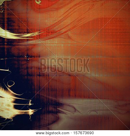 Vintage torn texture or stylish grunge background with ancient design elements and different color patterns: yellow (beige); brown; gray; red (orange); purple (violet); pink