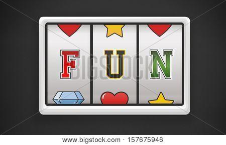 Fun Amusement Enjoyment Happy Hobbies Concept
