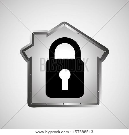 computer data protection security design vector illustration eps 10