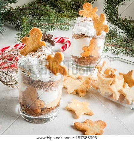 Christmas Dessert, Funny Ginger Trifle