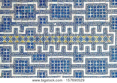 highly detailed image of mexican tile background