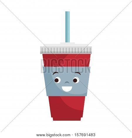 soda drink isolated icon vector illustration design