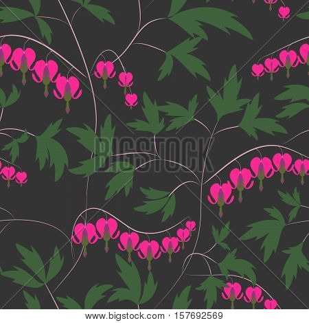 Seamless floral pattern background flowers ornament wallpaper textile