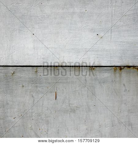 Corroded Rusty Metallic White Iron Sheet Frame Texture Background