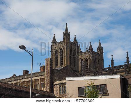 Bristol Cathedral In Bristol