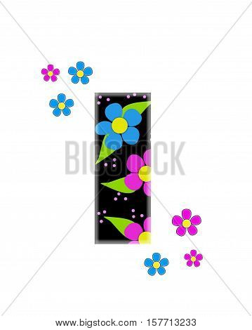 Alphabet Flower Topia I