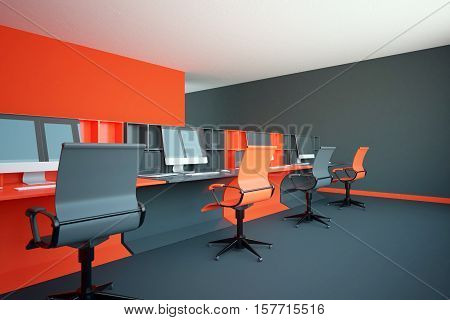 Red Coworking Office