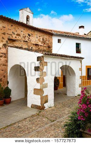 Caceres juderia Ermita saint Antonio in Spain Jewish quarter hermitage
