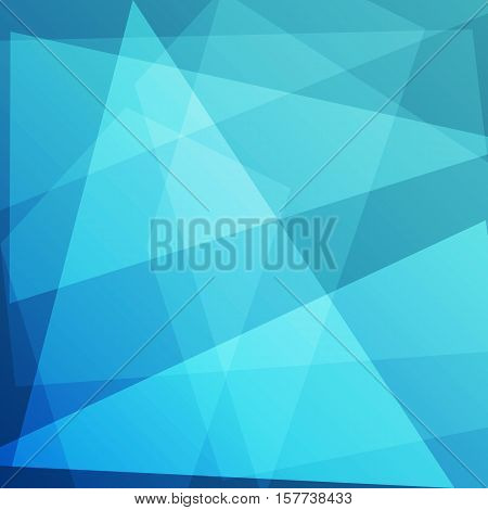Abstract blue background for design, stock vector