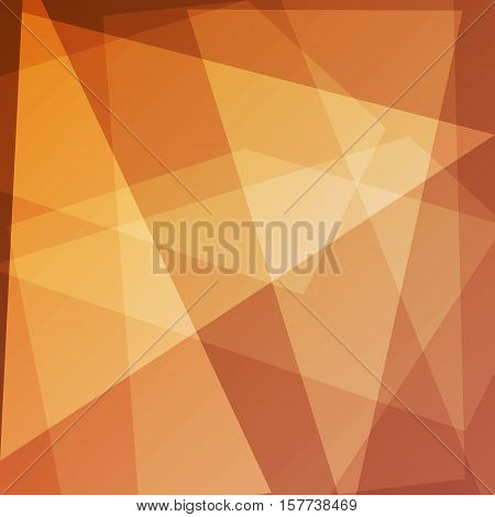 Abstract orange background for design, stock vector