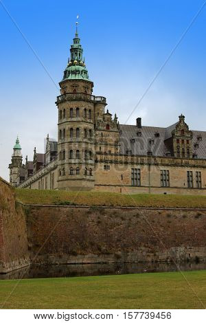 Kronborg Or Elsinore Castle In Copenhagen, Denmark
