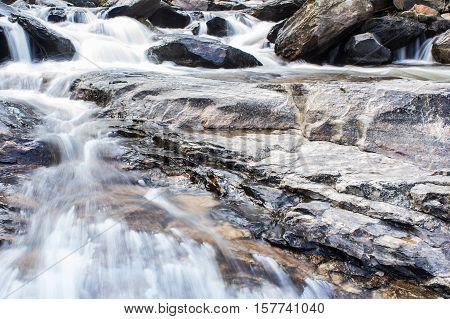 Mae Ya waterfall Doi Inthanon national park Chiang Mai Thailand