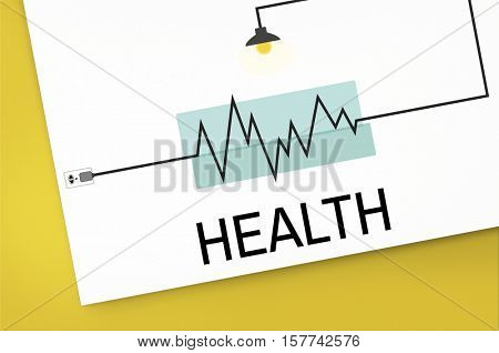 Health Fit Treatment Wellness Concept