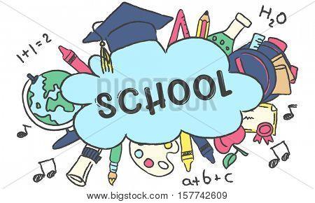 School Education Academics Study Concept