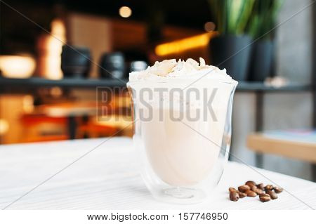 Coffee Cup Cappuccino Latte Restaurant Relaxation Refreshment Good Morning Concept