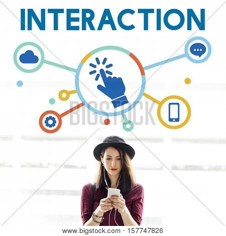Technology Networking Communication Digital Concept