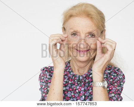 Woman Joyful Casual Caucasian Portrait Concept