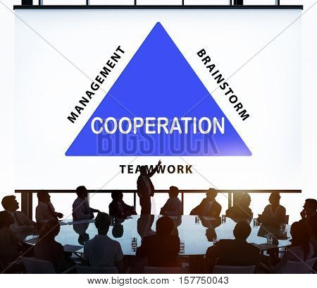 Business Corporate Collaboration Concept