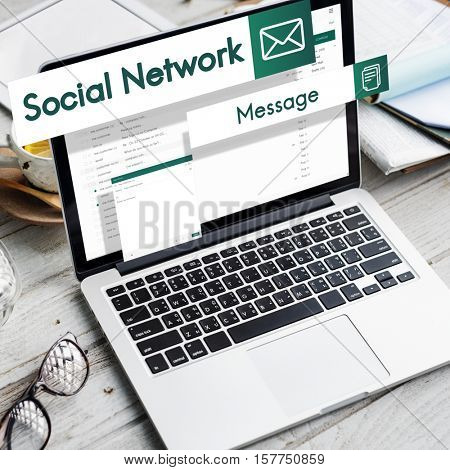 E-mail Global Communications Connection Social Networking Concept