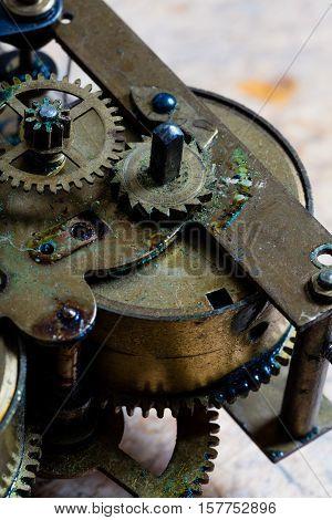 Clockworks And Internals Of A Clock