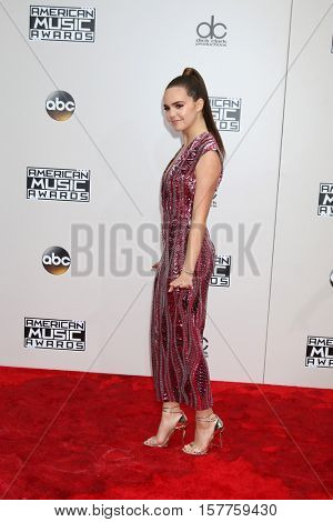 LOS ANGELES - NOV 20:  Bailee Madison at the 2016 American Music Awards at Microsoft Theater on November 20, 2016 in Los Angeles, CA