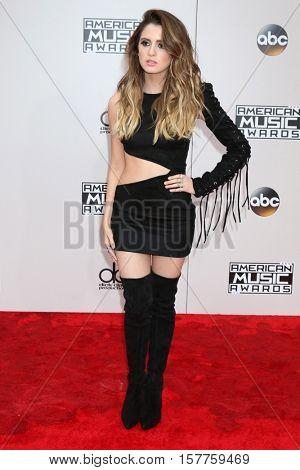 LOS ANGELES - NOV 20:  Laura Marano at the 2016 American Music Awards at Microsoft Theater on November 20, 2016 in Los Angeles, CA