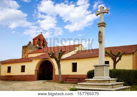 El Cubo del Vino church in Salamanca by the Via de la Plata way Spain